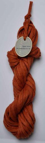 Terracottacotton/linen mix ChunkyTape yarn 100g skein